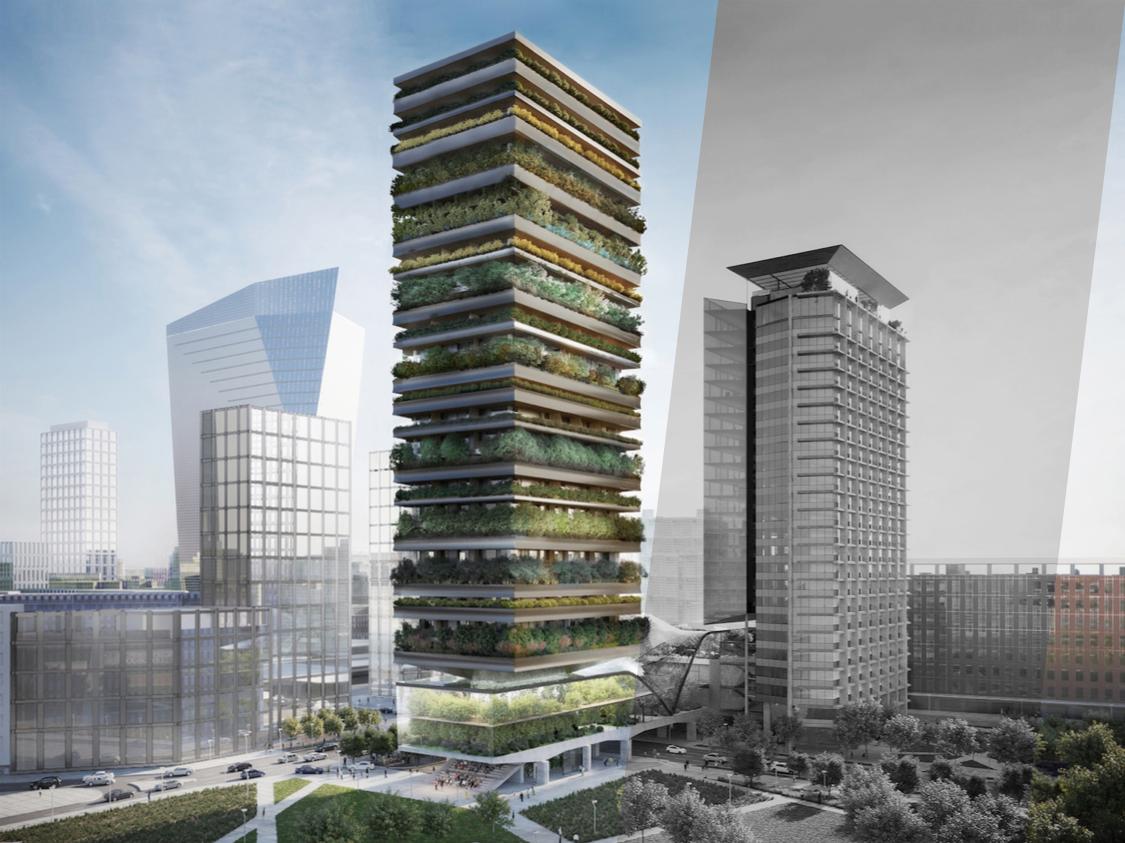 edifici sostenibili: high line e bosco verticale